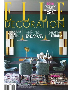 ELLE DECORATION France February 2016