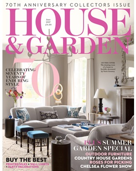 HOUSE & GARDEN UK  June 2017
