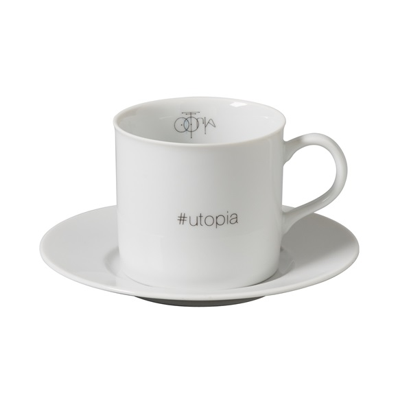 Set of 4 cappuccino cups