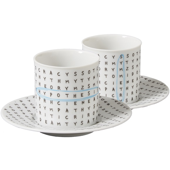 Set of 2 ESPRESSO CUP & SAUCER