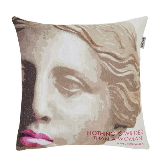 Red Lips Cushion Cover