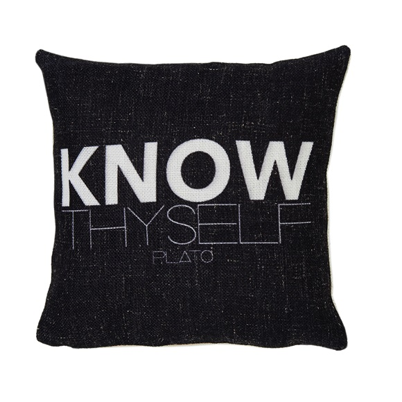 Know Mini Cushion in a Gift Box
