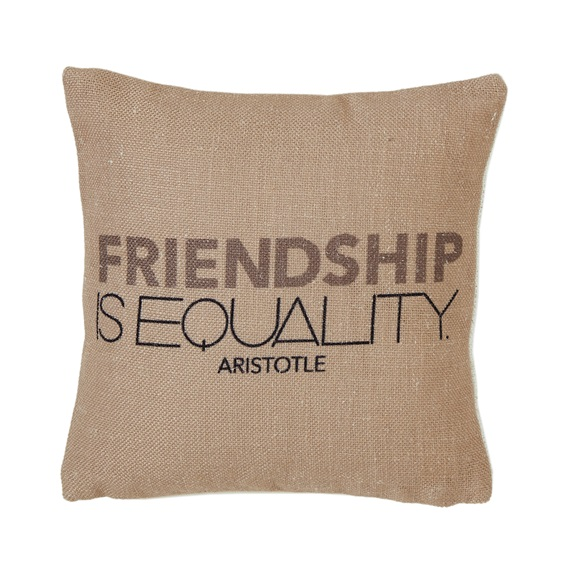 Equality Mini Cushion in a Gift Box