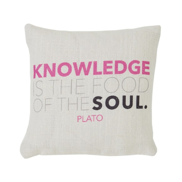 Knowledge Mini Cushion in a Gift Box
