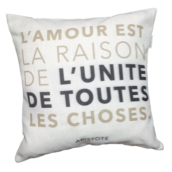 L' Amour Cushion Cover