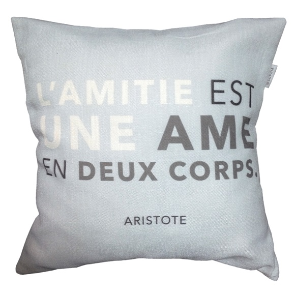 L' Amitie Cushion Cover