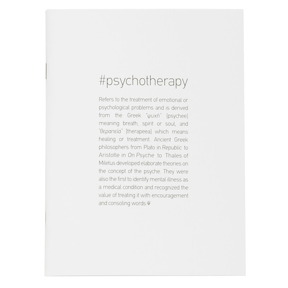 Notebook #PSYCHOTHERAPY