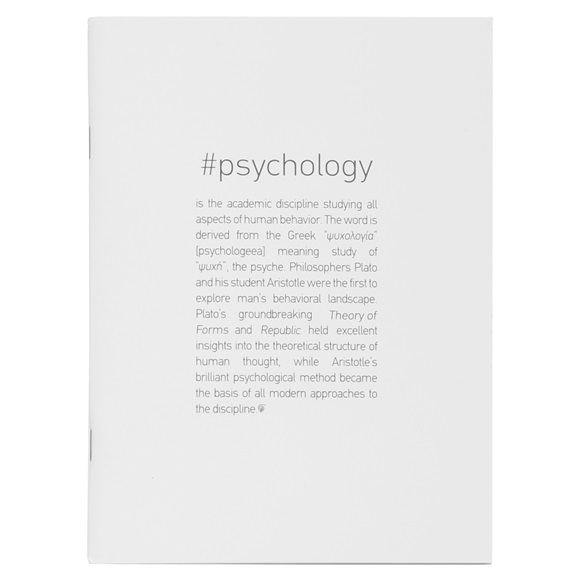Notebook #PSYCHOLOGY