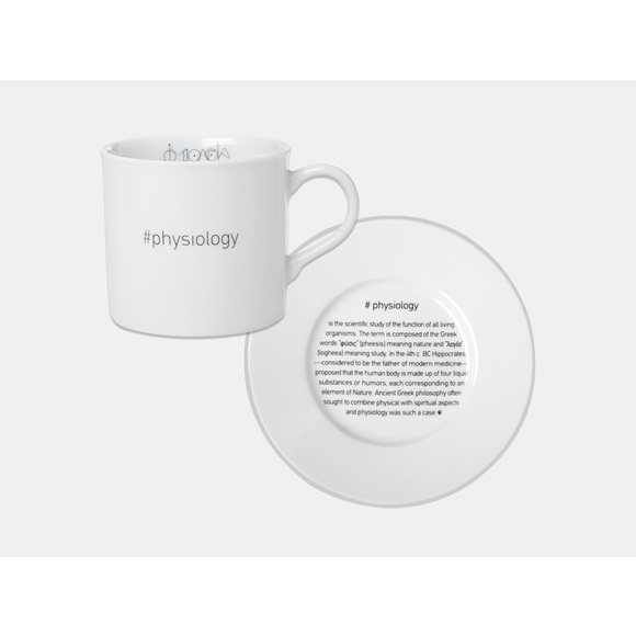 #Psychology Set 4 Cappuccino Cups