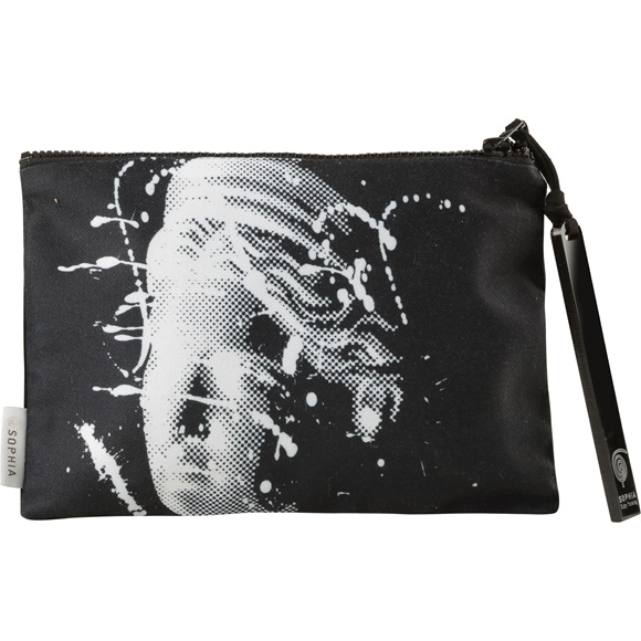 Artemis Splash Black Pouch