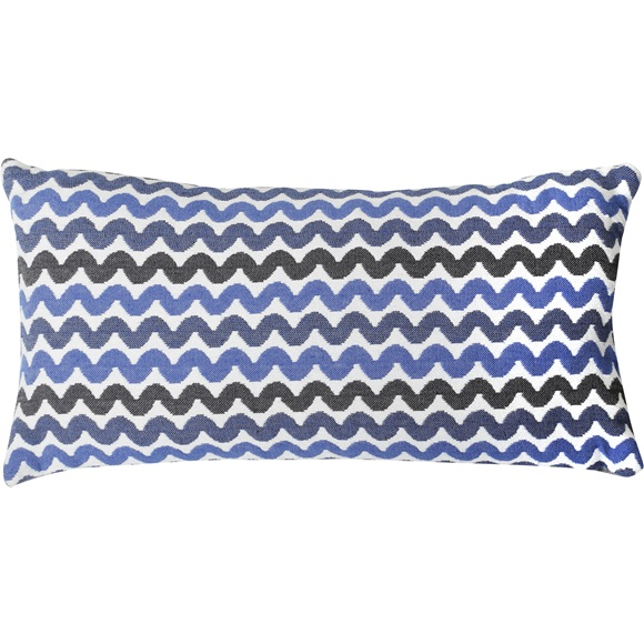 Cushion Cover Waves 27x50cm