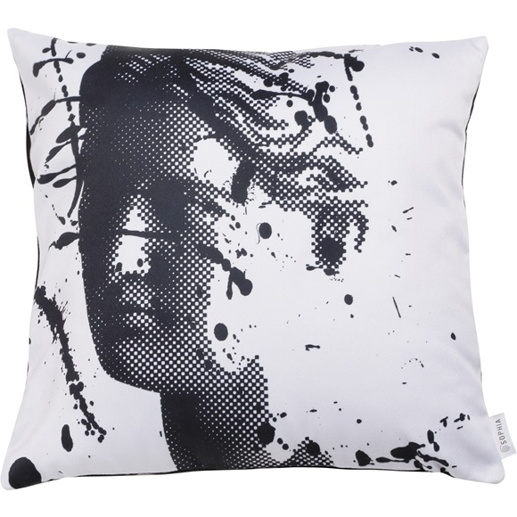 Cushion Cover Artemis Splash Grey 43x43cm