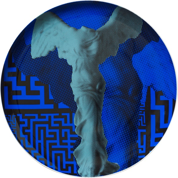 Wall Decor Plate Nike Maze