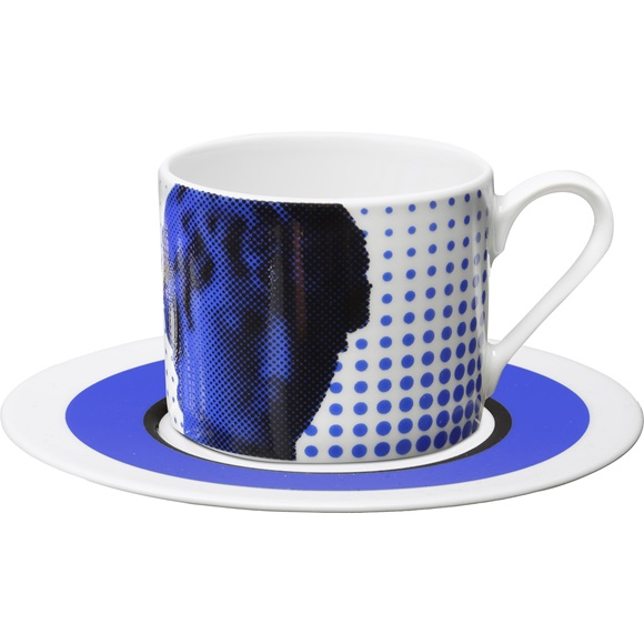Cappuccino Cup & Saucer Antinoos