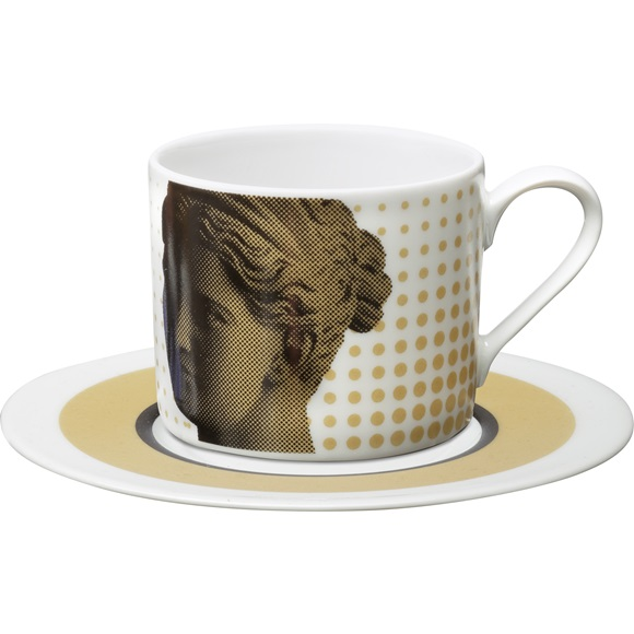 Cappuccino Cup & Saucer Artemis