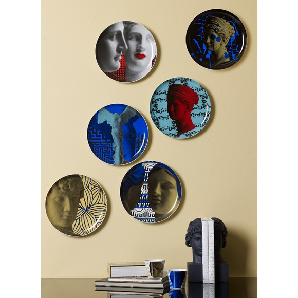 Wall Decor Plate Artemis & Venus Geometric