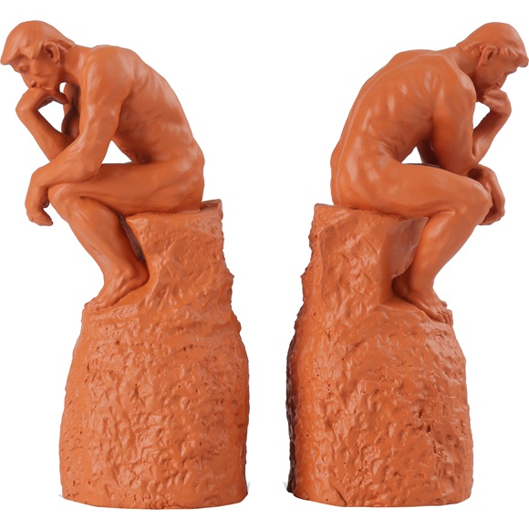 Bookend Penseur Set of 2