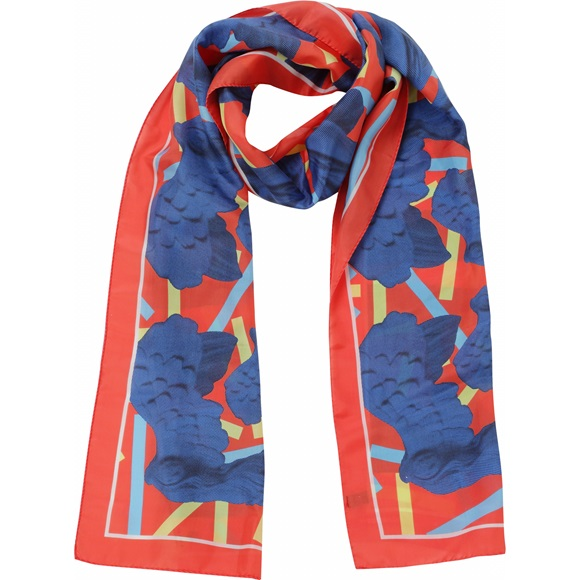 Nike Red Scarf