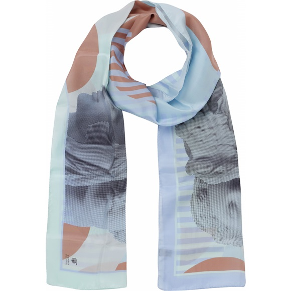 Grace Blue Scarf