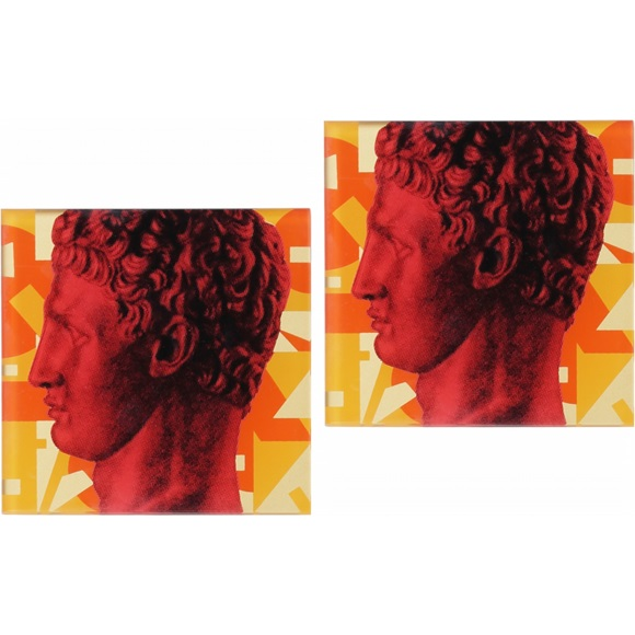 Coasters Hermes Red Profile