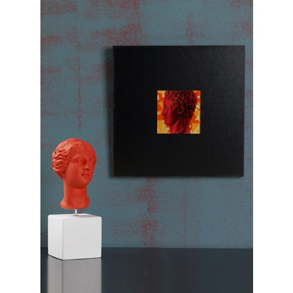 Wall art Hermes Red Profile