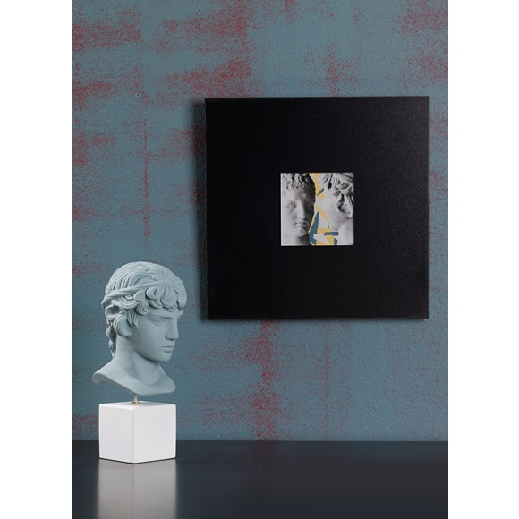 Wall art Hermes & Antinoos Grey