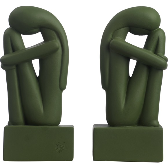 Bookend Cycladic Woman set of 2
