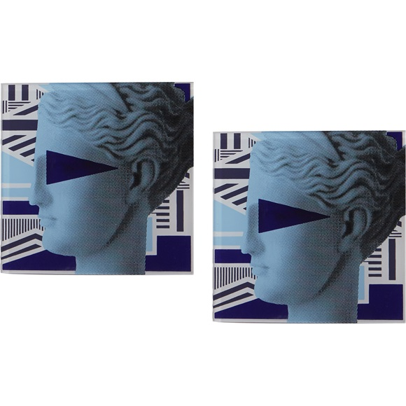 Coasters Artemis Blue set of 2