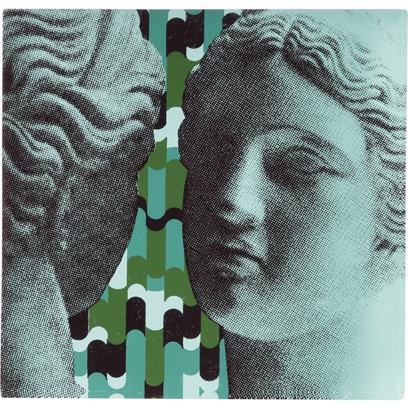 Artemis & Venus Green Coasters - Set of 2